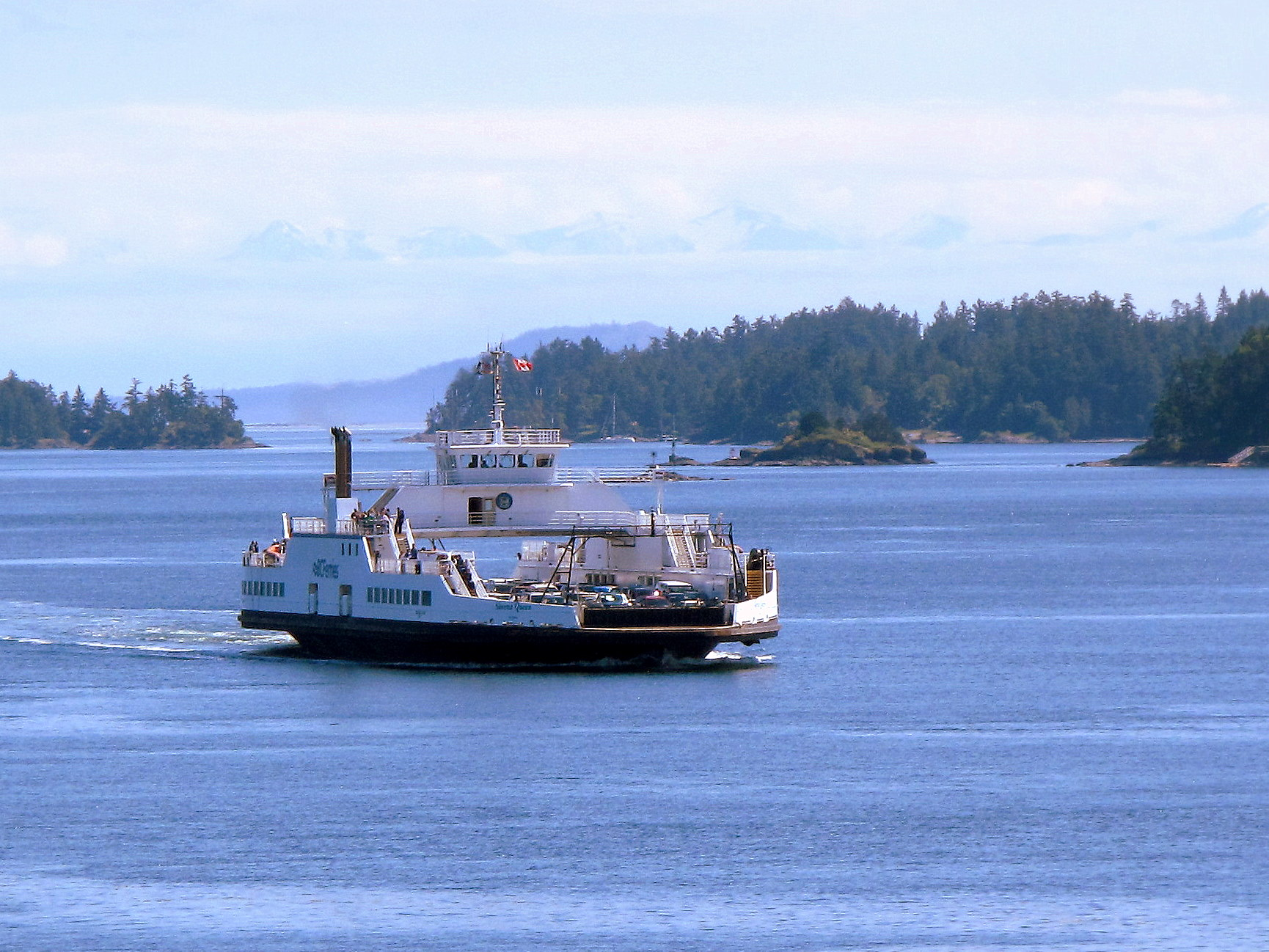 Beautiful British Columbia: Ferry Passage through the Gulf Islands