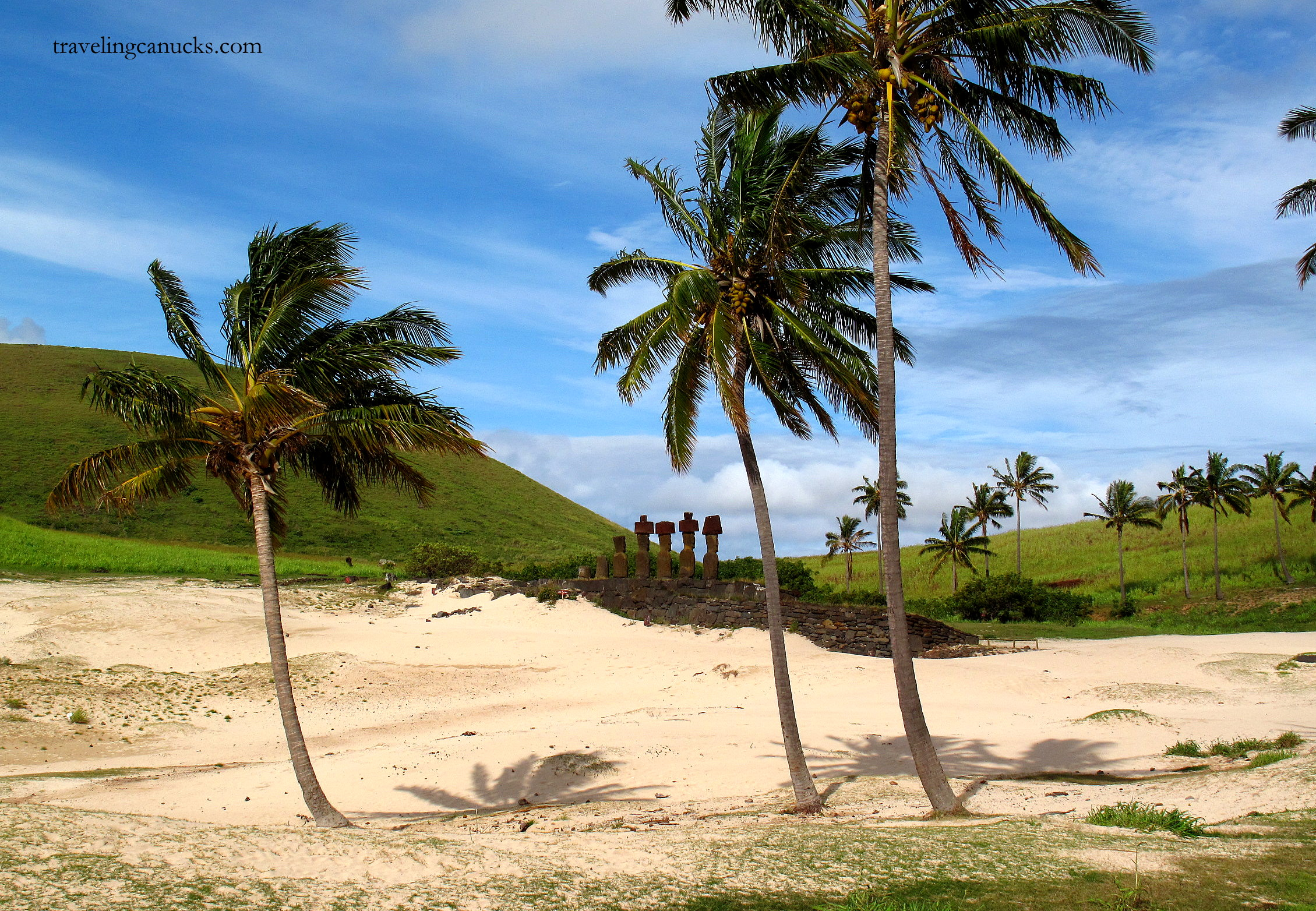 Photo of the Week: Anakena Beach, Easter Island