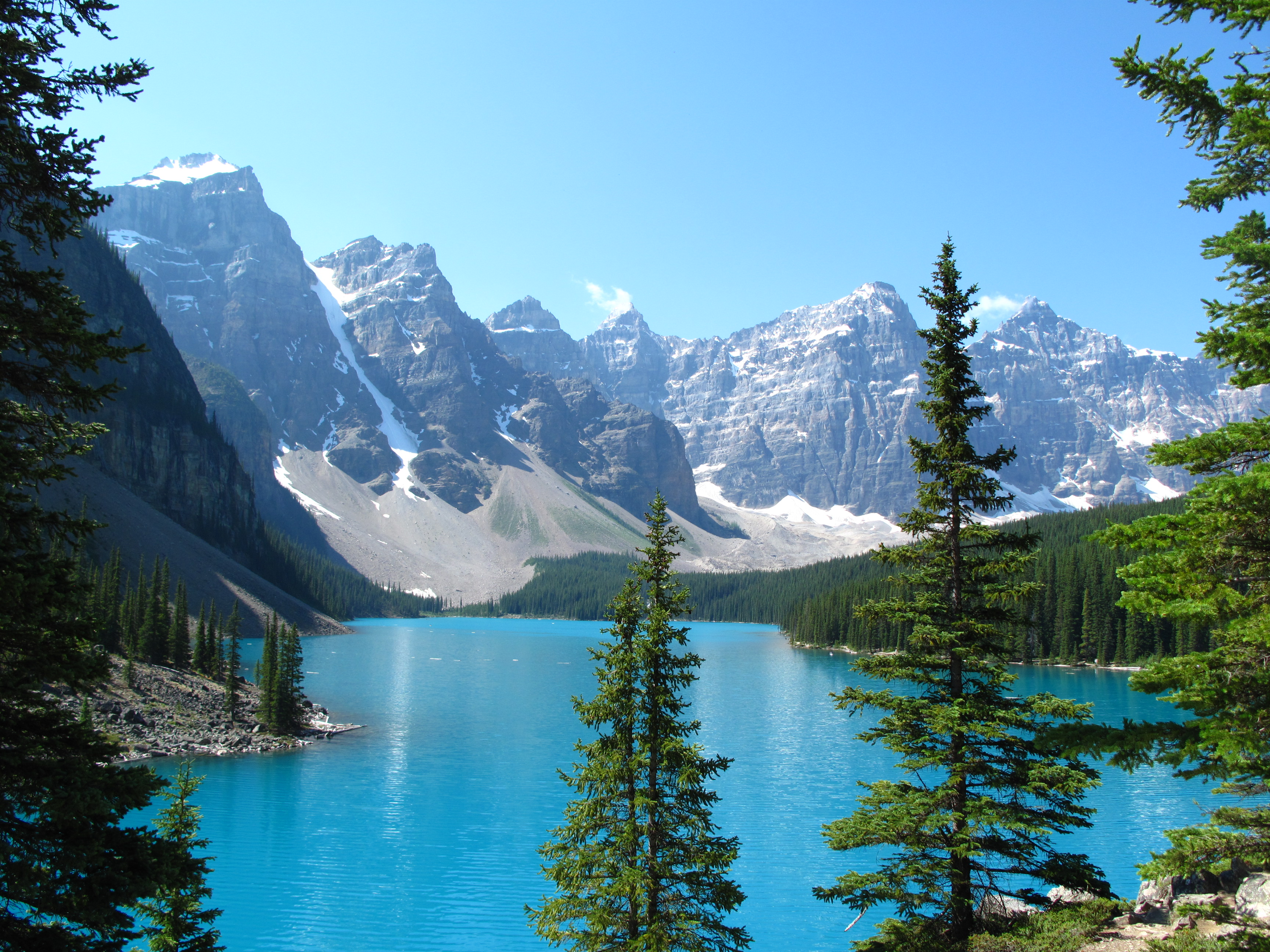 Canadian Rockies Road Trip – Moraine Lake, Alberta