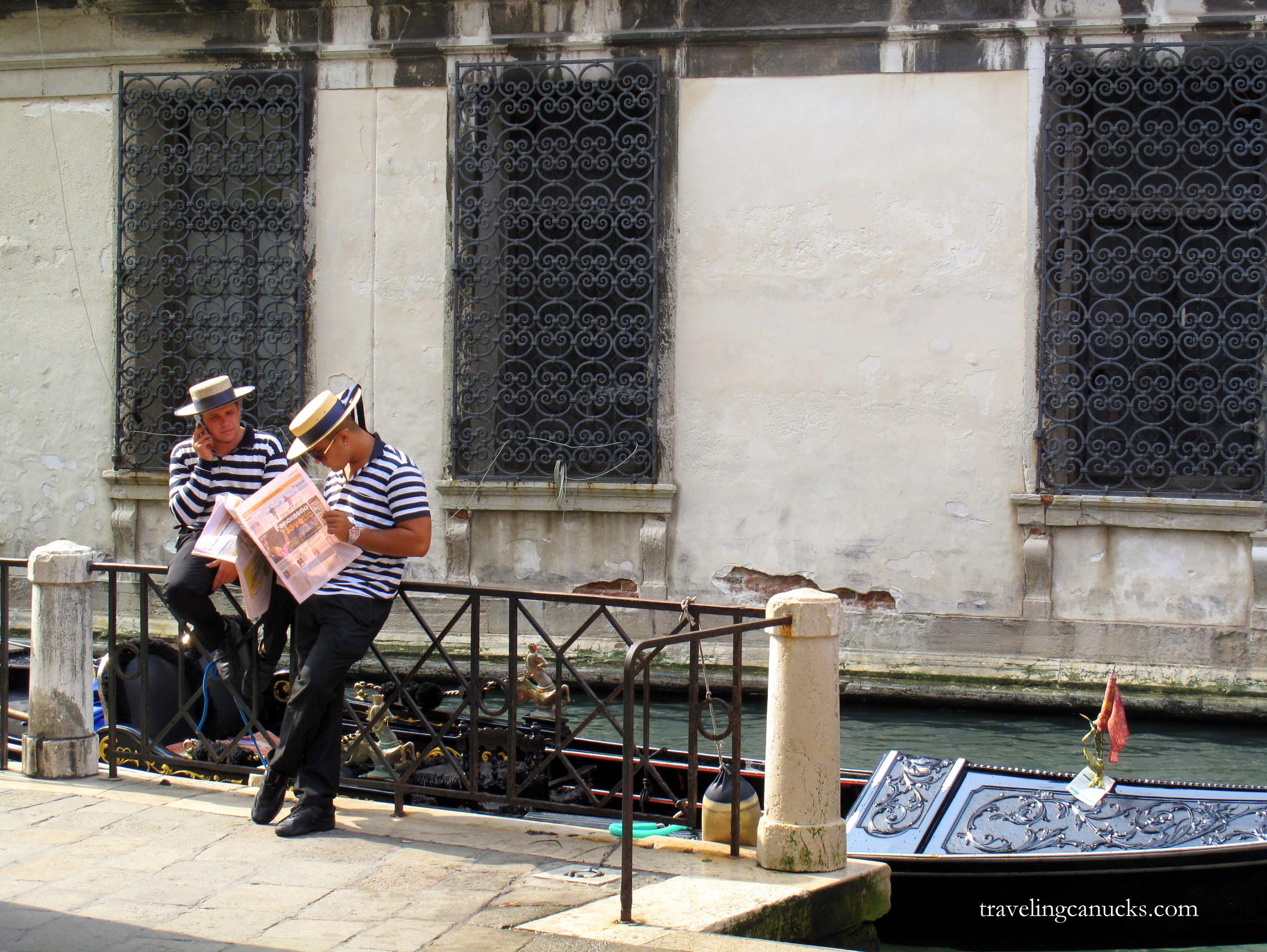 Photo of the Week: Taking a Break in Venice, Italy