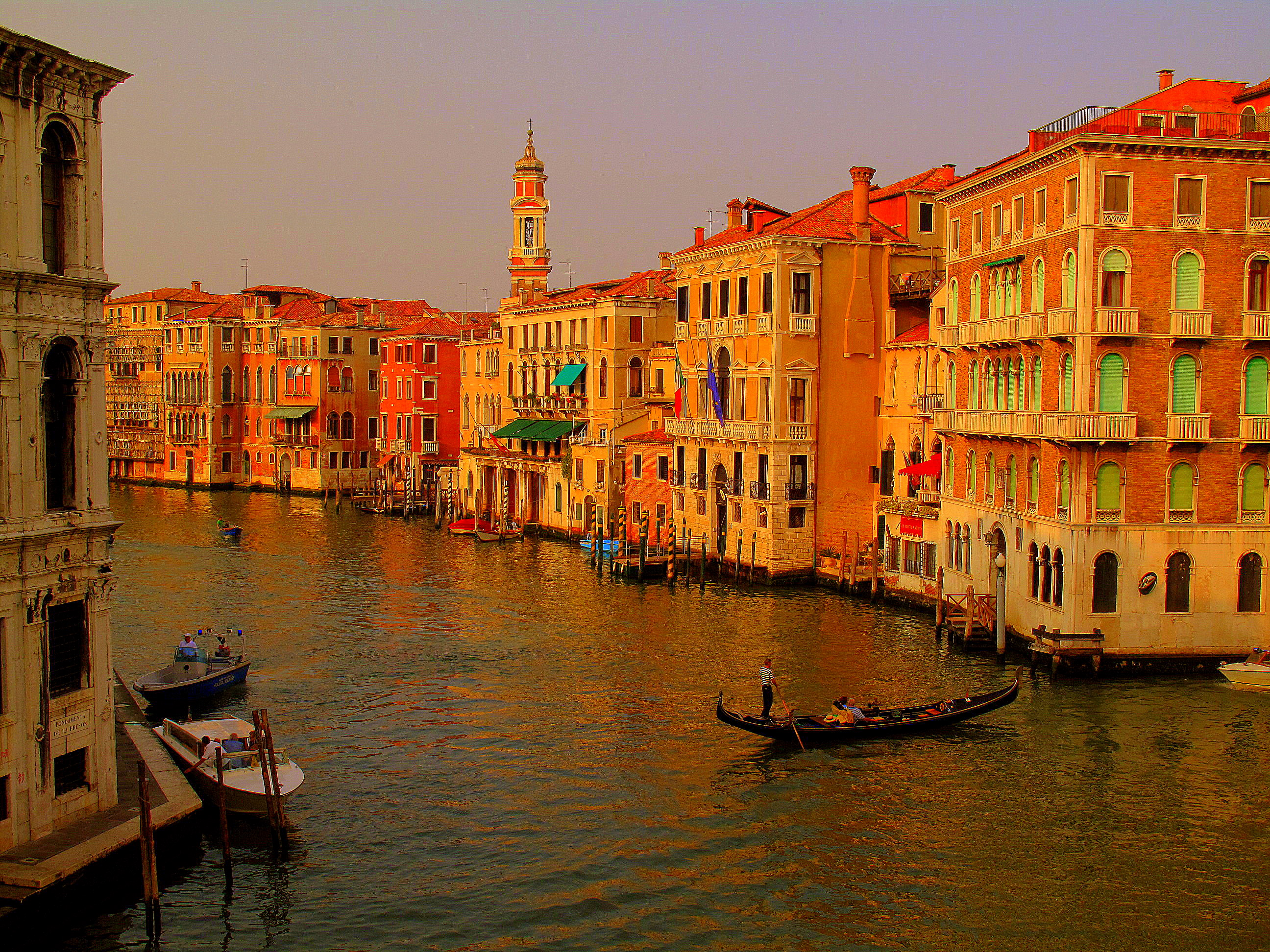 Photo of the Week: Colourful Canals of Venice, Italy