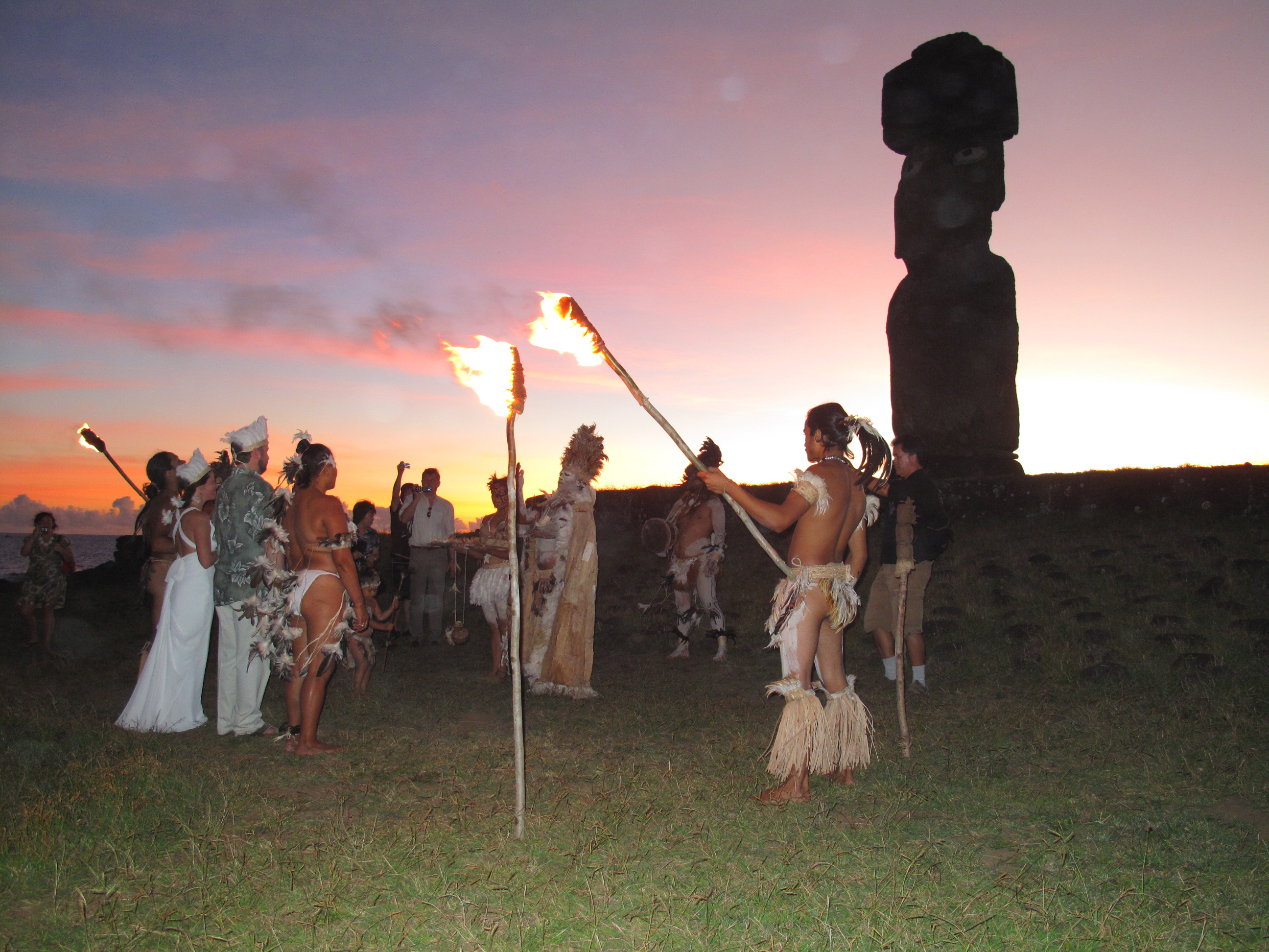 Polynesian Tribal Dance, Easter Island
