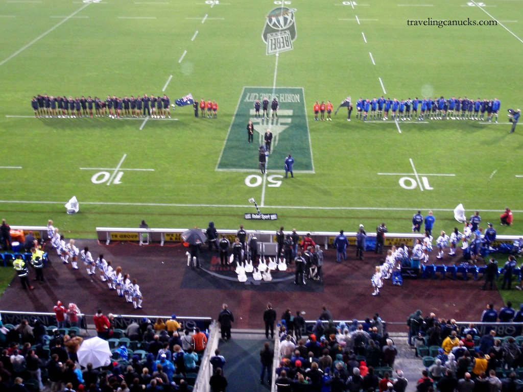 Auckland Rugby Match