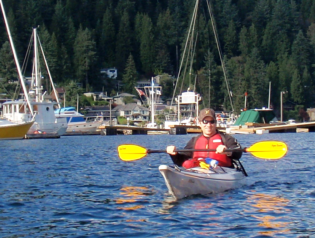 Kayaking in Deep Cove & Indian Arm, British Columbia