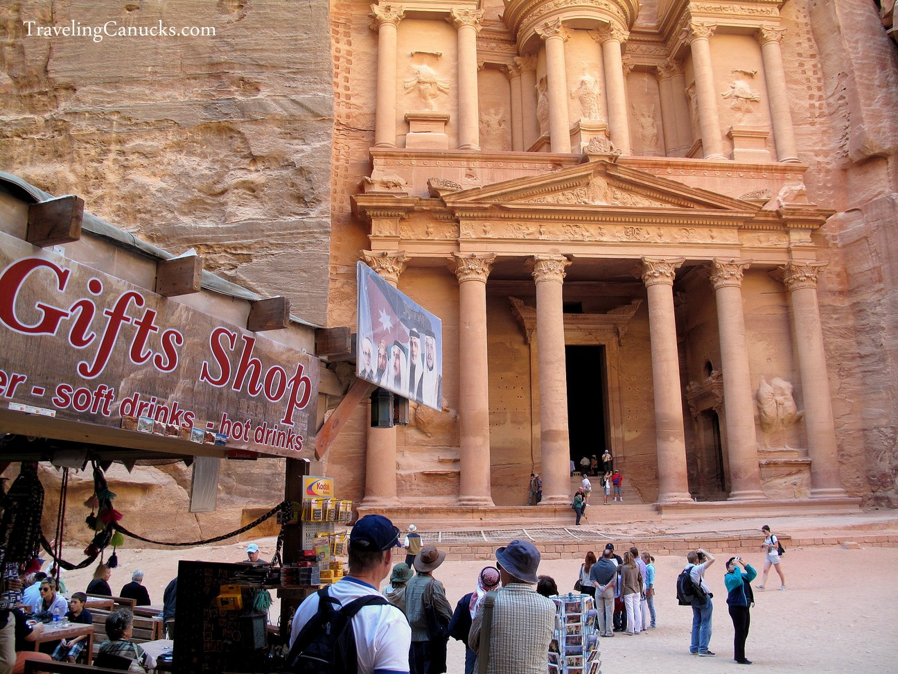 Photo of the Week: The Irony of Petra's Treasury