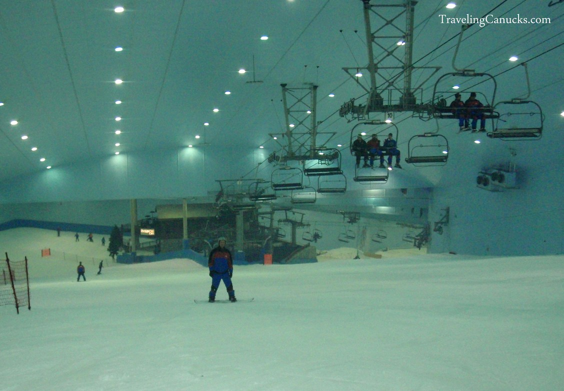 Snowboarding in the Desert? Welcome to Dubai!