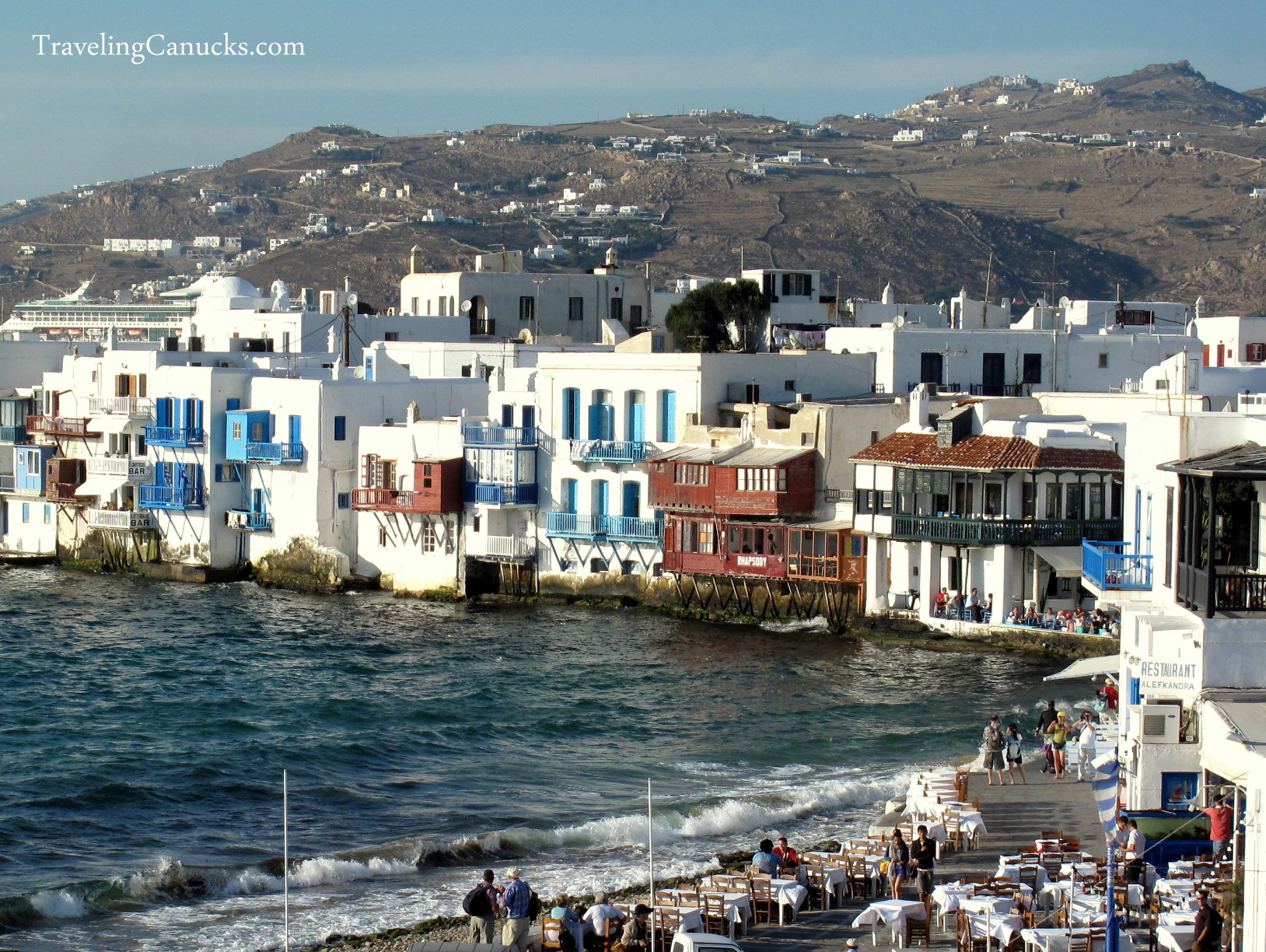 Mykonos Greece  city photo : Little Venice Mykonos Greece