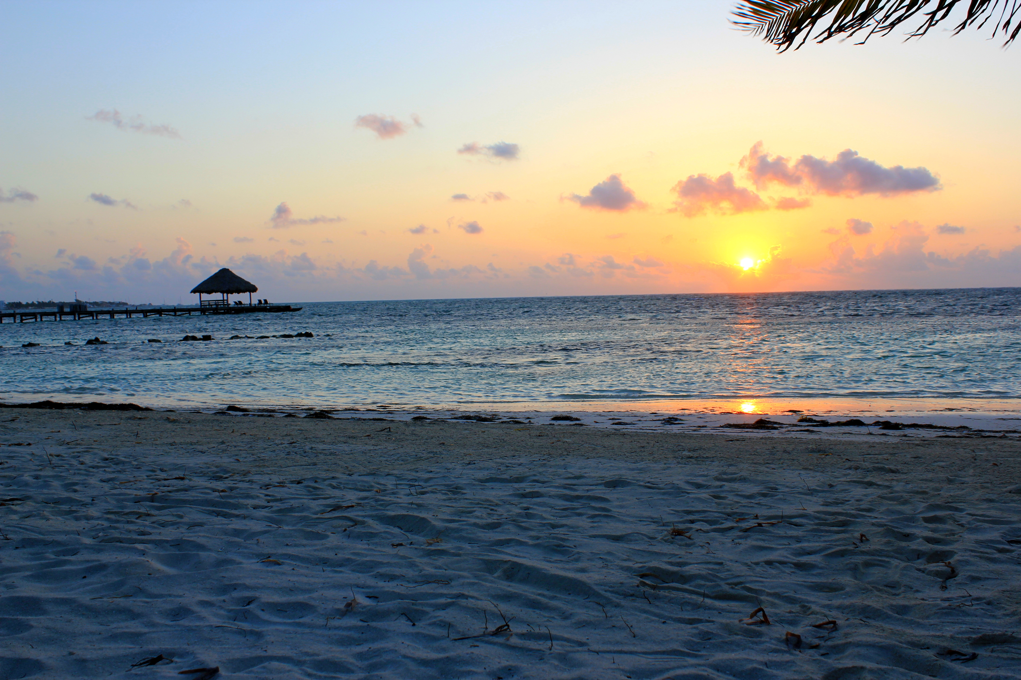 Time Lapse Video – Sunrise over Ambergris Caye, Belize