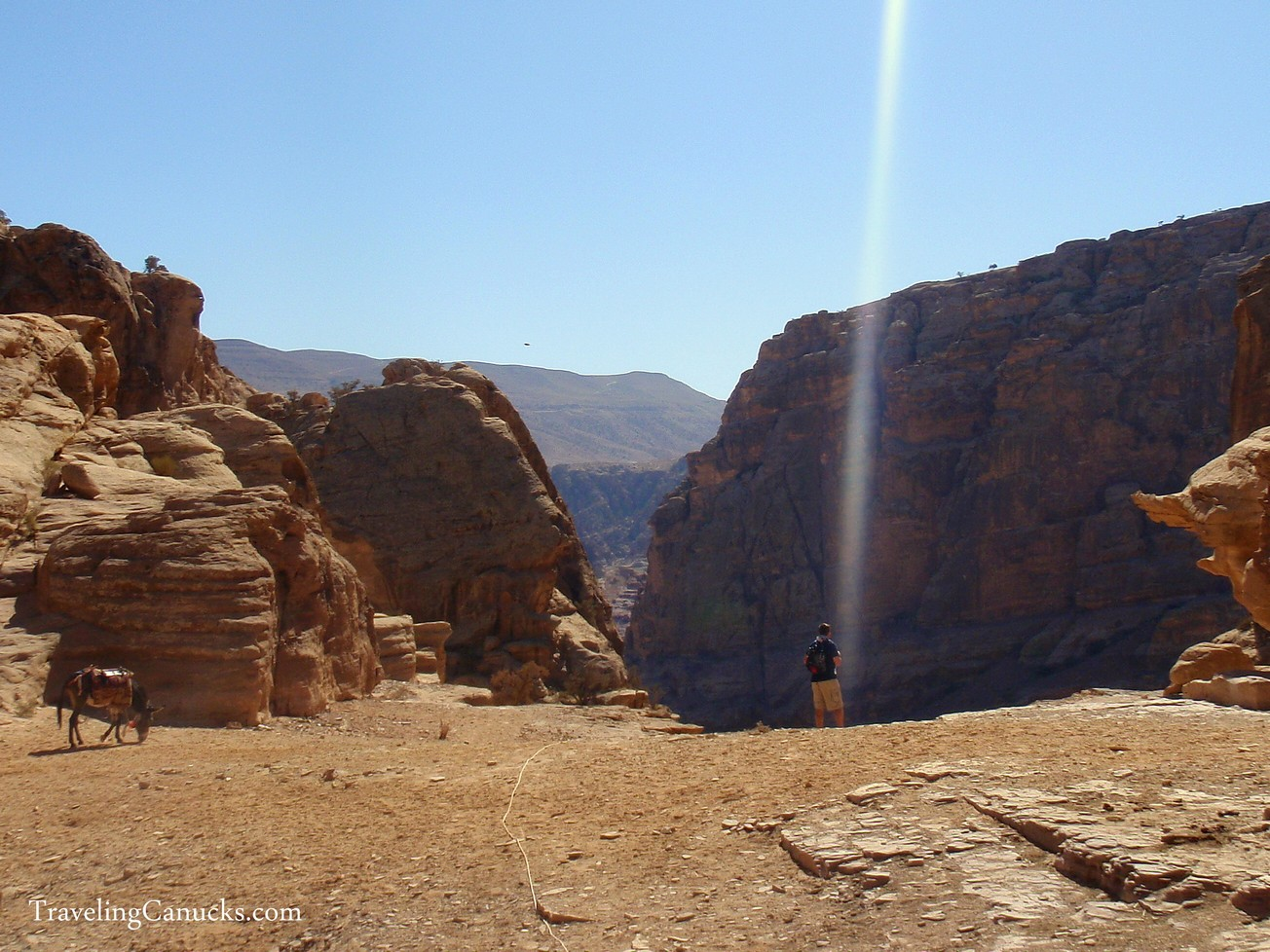 Photo of the Week: Hiking in Jordan's Holy Land