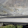 Photos of the insane mountain pass located just outside the Argentina-Chile border crossing - can you imagine driving this road in the thick of winter?!