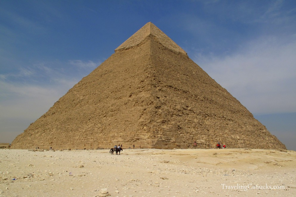 Pictures of the Great Pyramids of Giza in Egypt