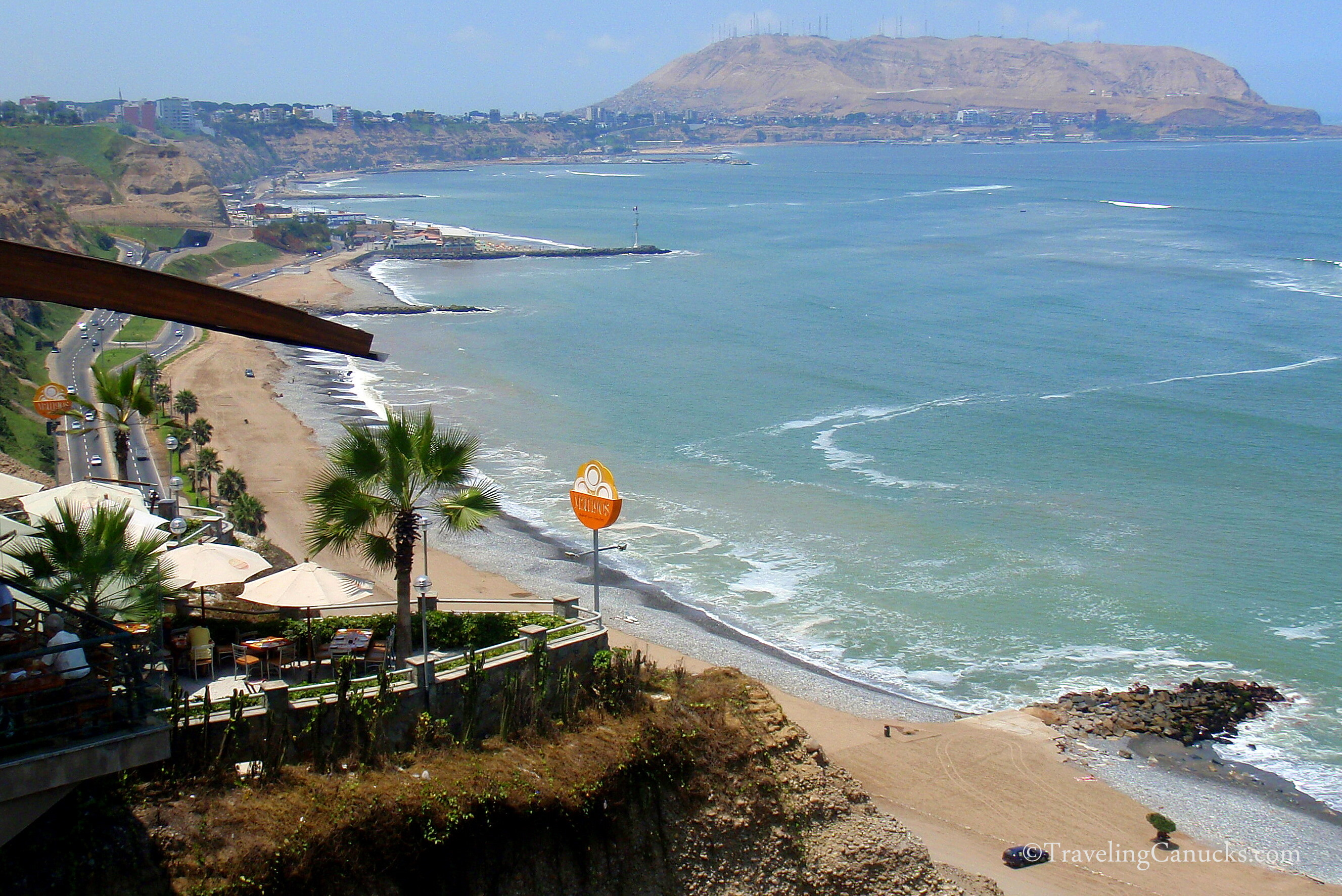 Beach South Of Lima