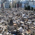 This week's photo comes from a rooftop hotel in Buenos Aires, where we caught a bird's eye view of the coolest and arguably most expensive cemetery in the world