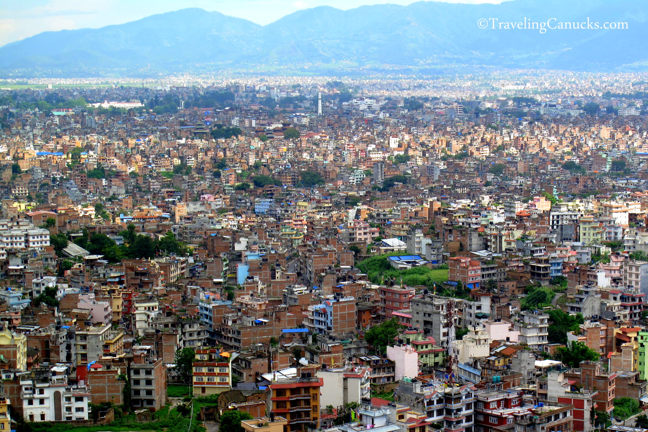 Photo of the Week: Congested Kathmandu Valley in Nepal