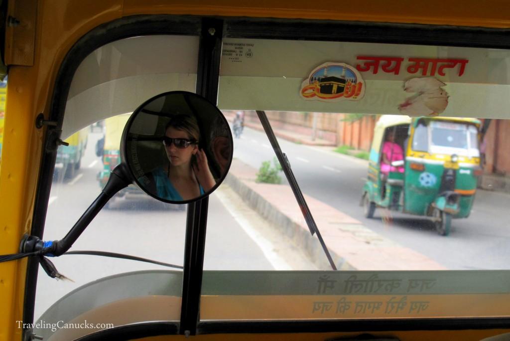 India tuk tuk experience