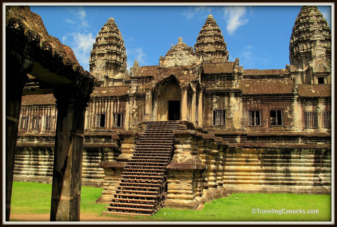 Photo of the Week: Inside Angkor Wat, Cambodia