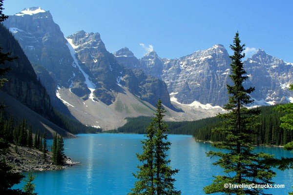 Moraine Lake, Canadian Rockies, Alberta