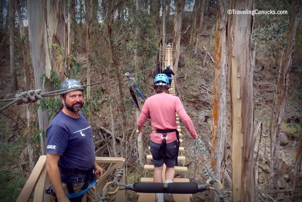 Ziplining through the Forests of Haleakala in Maui