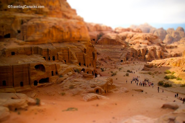 Photo of the Week: Panoramic Views of Petra, Jordan