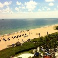 I'm currently in South Florida enjoying the sunshine and ocean views that Fort Lauderdale has become renowned for. Here are some photos of the resort that I'm staying at - the Marriott Harbor Beach Resort and Spa