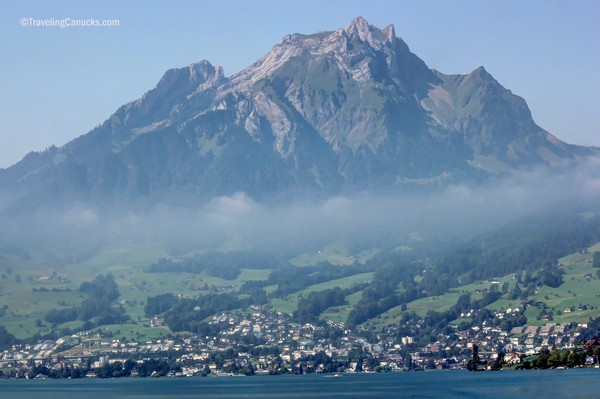 golden round trip to mount pilatus, lucerne, Switzerland