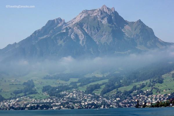 golden round trip to mount pilatus, lucerne, Switzerland