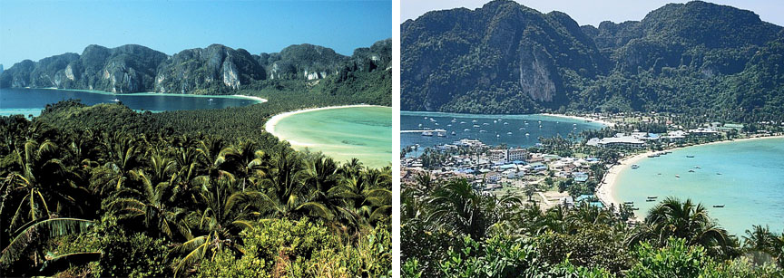 Koh Phi Phi 25 Years Later – How Times Have Changed!