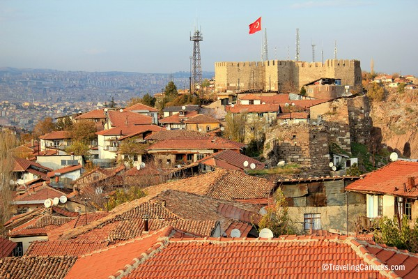 ankara old quarters and citadel turkey