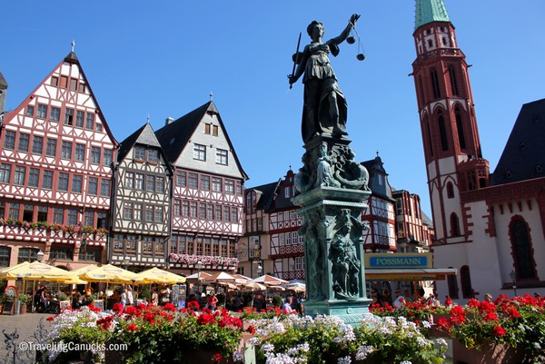 Photo of the Week: Römerberg in Old Town Frankfurt