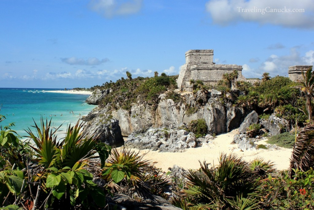 Tulum archaeological site on Mexico's Riviera Maya