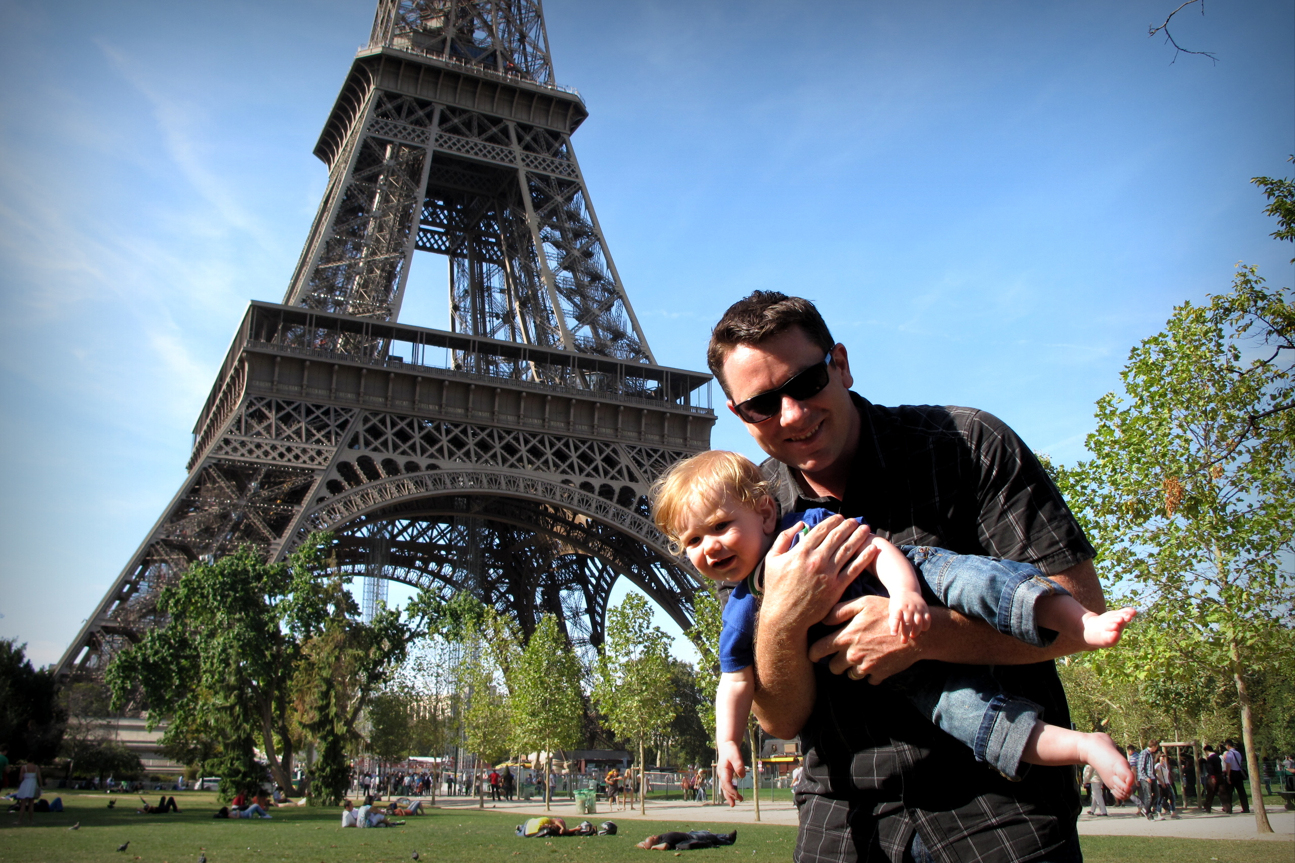 Baby B goes to Europe, a Video Slideshow