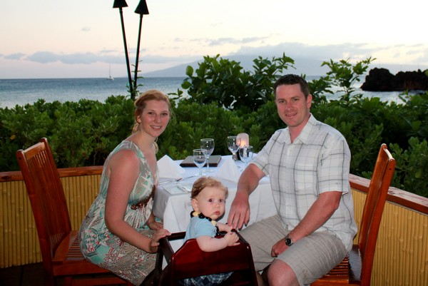 Dinner Under the Stars on Kaanapali Beach in Maui