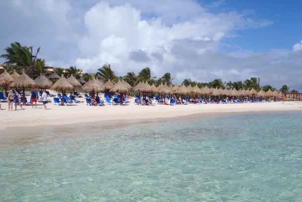 Beach, Riviera Maya, Mexico