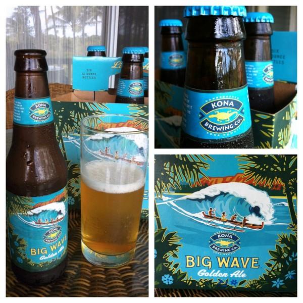 Big Wave Beer, Kona Brewing
