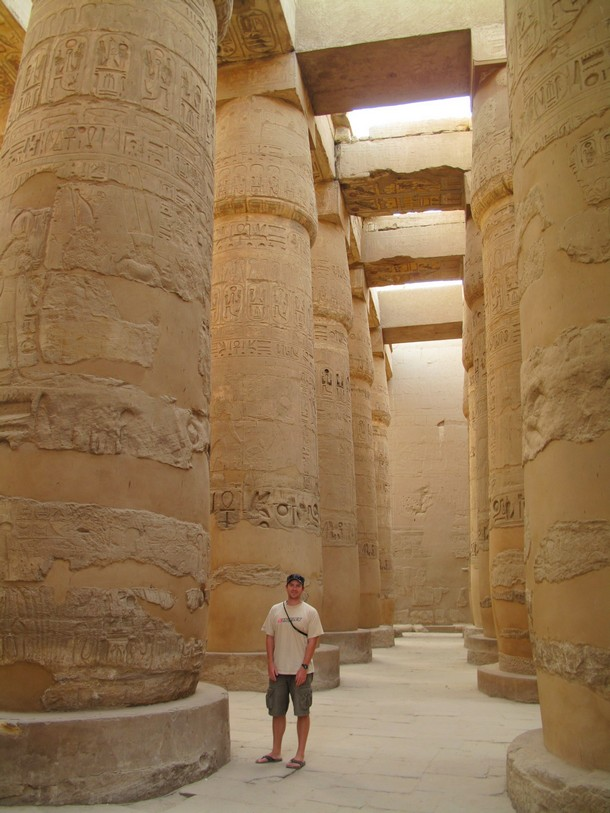 The Great Hypostyle Hall, Luxor Temple, Egypt