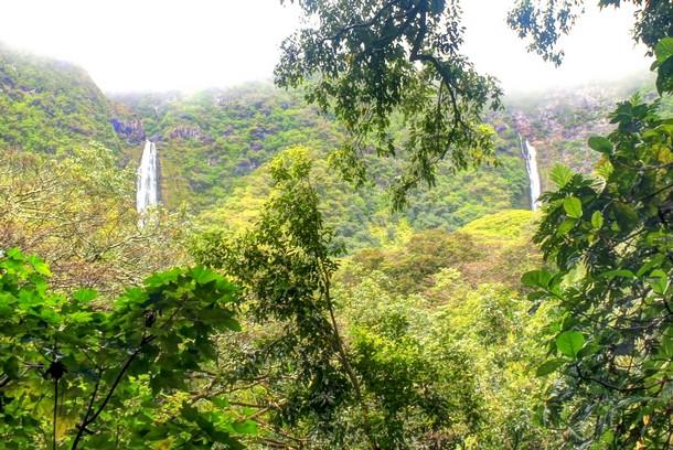 Halawa Valley Waterfall, Molokai, Hawaii