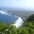 Rated as the number one adventure on Molokai, we hop on the backs of sturdy mules and descend 1,700 feet down the world's tallest sea cliffs to the Kalaupapa Peninsula