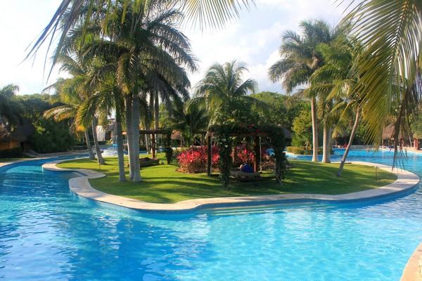 Pool at Iberostar, Mayan Riviera, Mexico