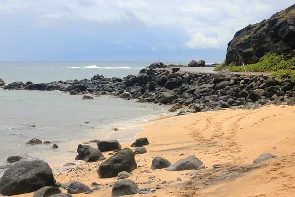Beach, Molokai, Hawaii