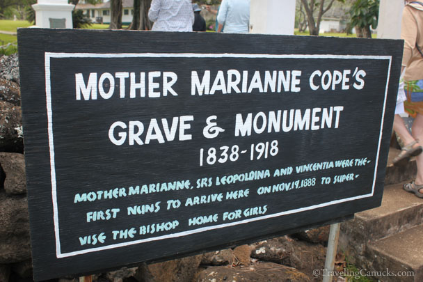 Mother Marianne Cope's Grave, Kalaupapa, Molokai, Hawaii