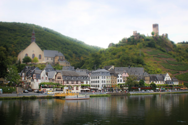 Mosel Valley, Germany - Tilt Shift Photos
