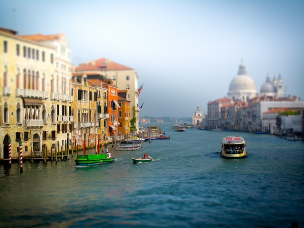 Venice, Italy - Tilt Shift Photos