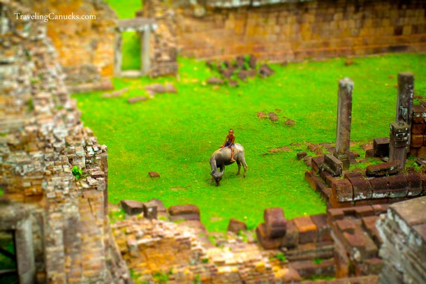 Temples of Angkor, Cambodia - Tilt Shift Photos