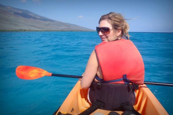 Sea Kayaking, Molokai, Hawaii