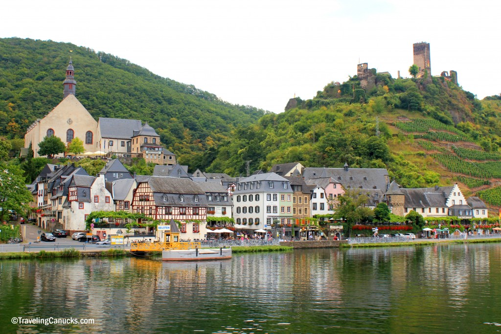 Beilstein village castle Mosel River Germany