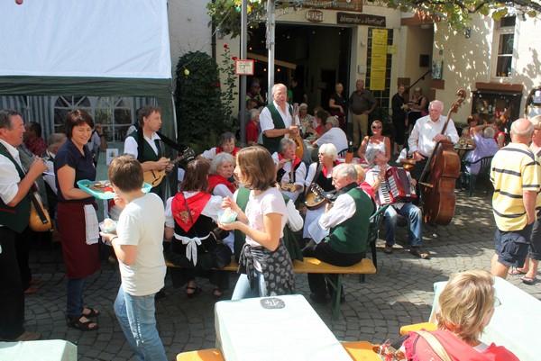 Street Festival, Reil, Mosel Valley, Germany