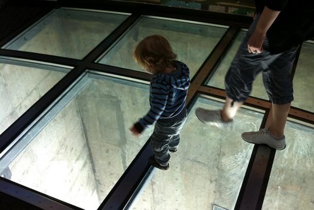Glass Floor of CN Tower, Toronto