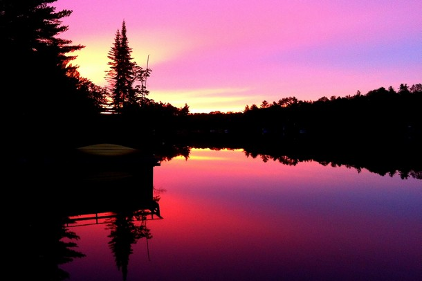 Muskoka Lake Sunset