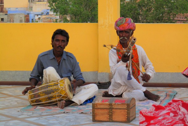 Musicians Rajasthan, Jodhpur, India