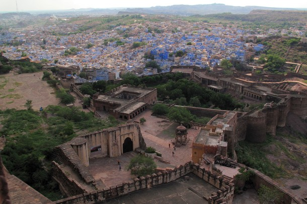 Mehrangarh Fort, Jodhpur, India, Blue City